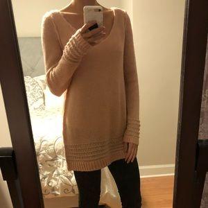 Peach sweater